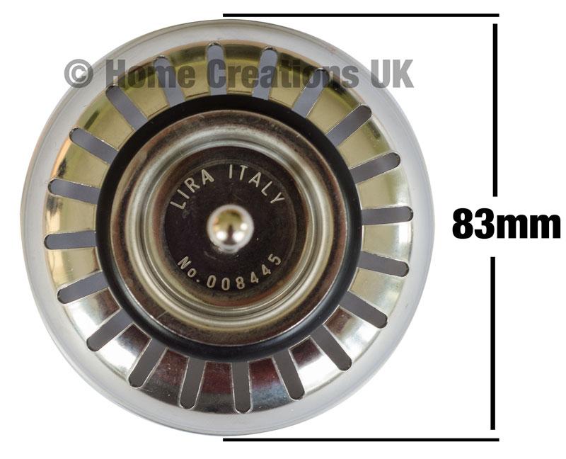 Franke Lira Basket Strainer Plug Old Style 008445